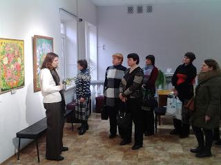 Екскурсія залами Запорізького обласного художнього музею