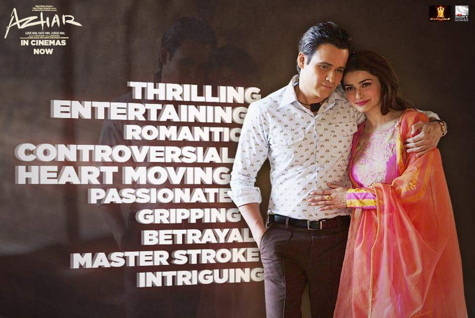 'Azhar' Movie Premier on Sony MAX Tv Channel Wiki Full Detail