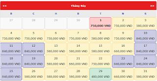 Vé máy bay giá rẻ đi Quy Nhơn