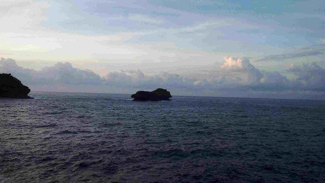 Pulau Sempu tepat terletak di depan sendang biru