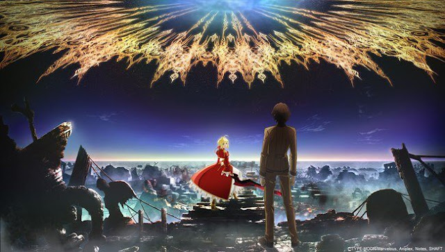 Resmi Anime Fate / Extra Last Encore Rilis Tanggal 27 Januari!!!