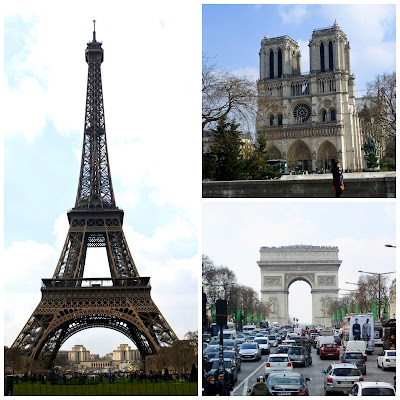 PAris%2BSightseeing%2BCollage Paris sightseeing: Catacombes, Eiffel Tower, The Louvre, the Marais etc