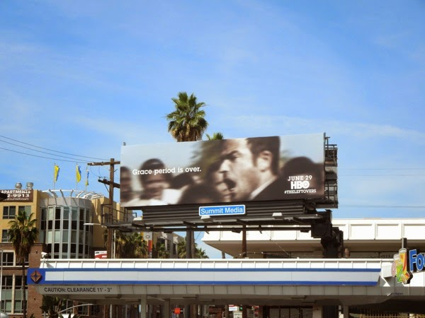The Leftovers series premiere TV billboard