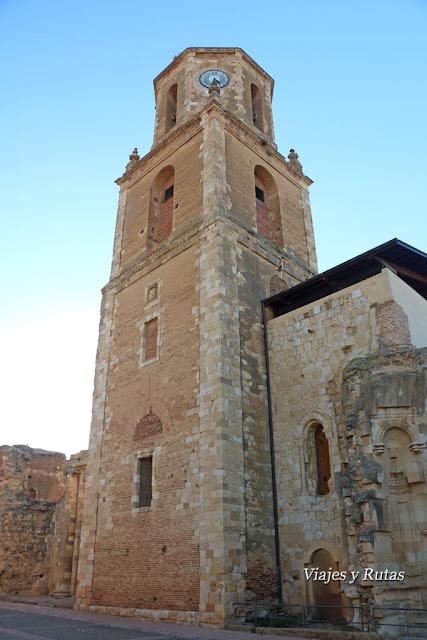 Torre del reloj del Monasterio de San Benito, Sahagún de Campos, León