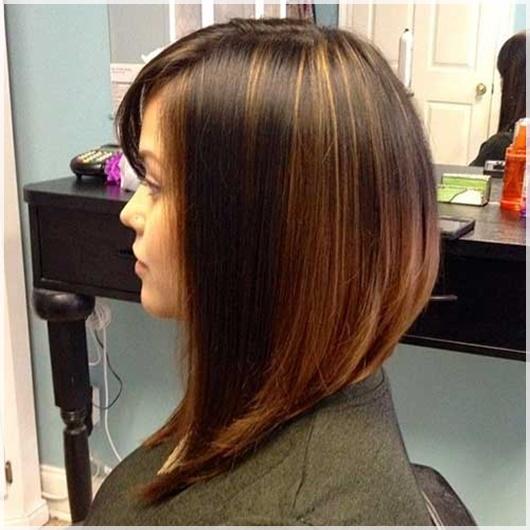 Hinten kurze seitlich lange Frisuren