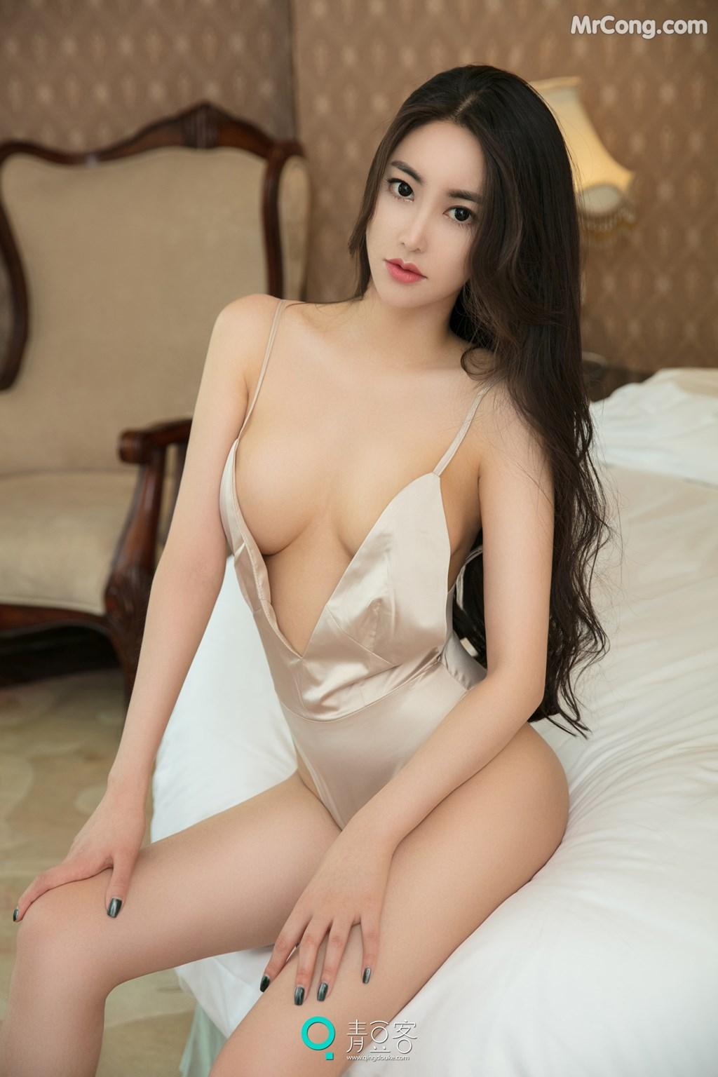 Image QingDouKe-2017-08-03-Mu-Fei-Fei-MrCong.com-030 in post QingDouKe 2017-08-03: Người mẫu Mu Fei Fei (穆菲菲) (53 ảnh)