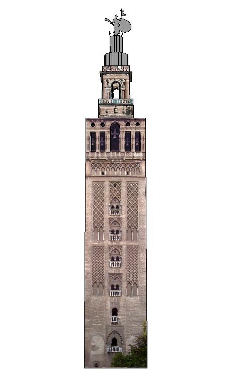 La Giralda de Sevilla  DePapercraftBlog