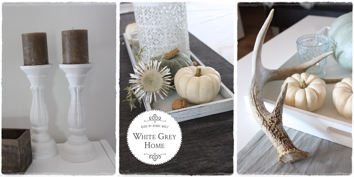 white grey home herbstdeko im haus. Black Bedroom Furniture Sets. Home Design Ideas