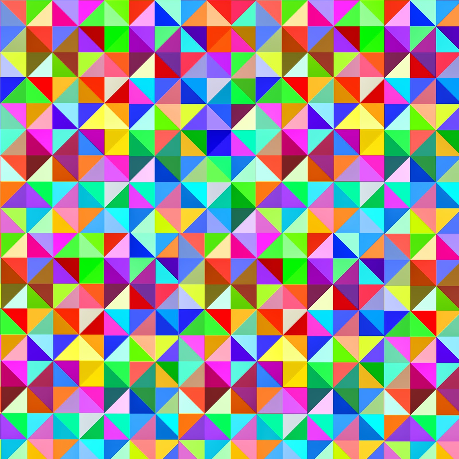 Doodlecraft: Gigantic Geometric Colorful Triangle FREEBIES ...