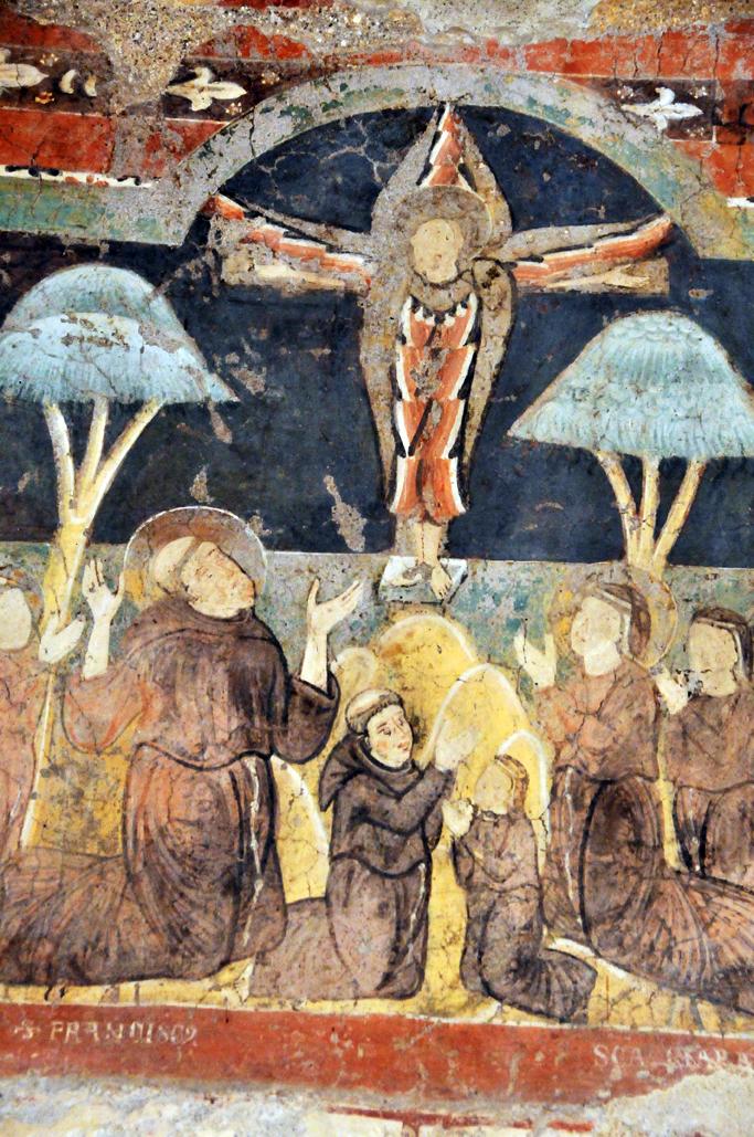 Lo stregone di Assisi: I funghi e le stimmate: una visione
