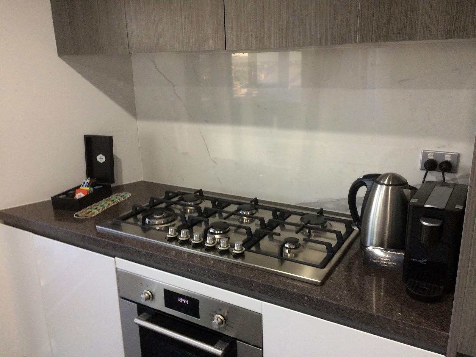 Meriton Church Street Parramatta Kitchen amenities