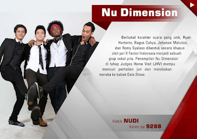 Nu Dimension X Factor 2013