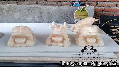 Patung Katak, Patung Onyx, Pengrajin Patung