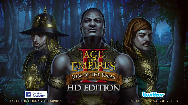 Age of Empires II HD - Rise of the Rajas - PC Full - Portada