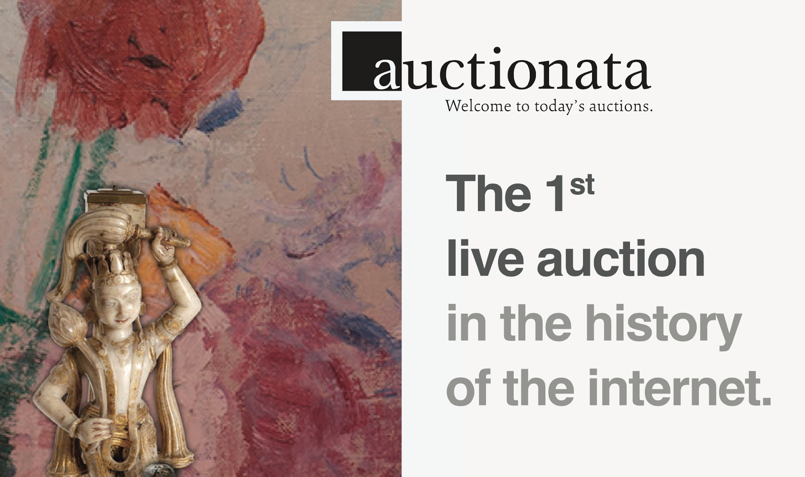 2012 Auctionata launch was NOT 1st Live Auction on Internet