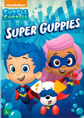 Bubble Guppies Super Guppies 2016 DVD R4 NTSC Latino