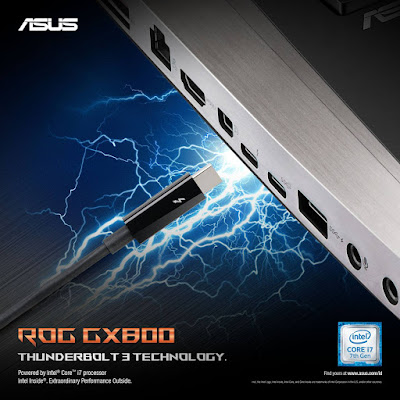 ASUS ROG GX800 Thunderbolt Technology