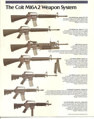 Future war stories fws armory modular firearms when eugene stoner conceived the ar15 rifle he envision a family of variants constructed around a lightweight space age assault rifle that fired a new thecheapjerseys Choice Image