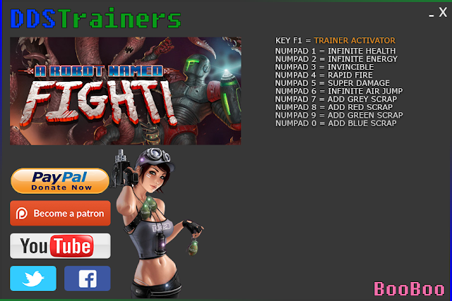 A Robot Named Fight Trainers and Cheats for PC