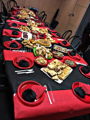 mesa comida