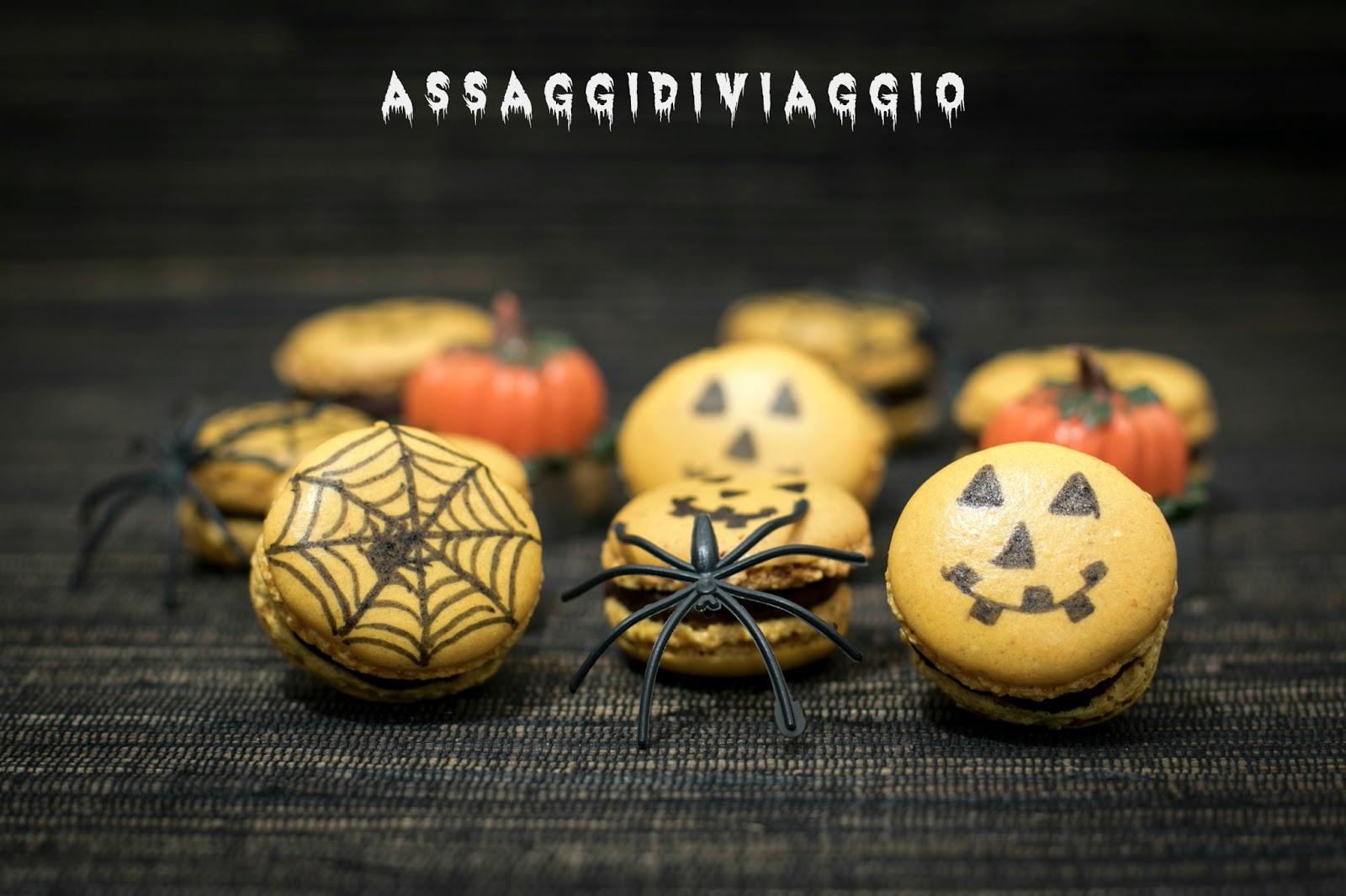Non Festeggio Halloween.Mostruosi Macarons Per Festeggiare Halloween Assaggi Di Viaggio