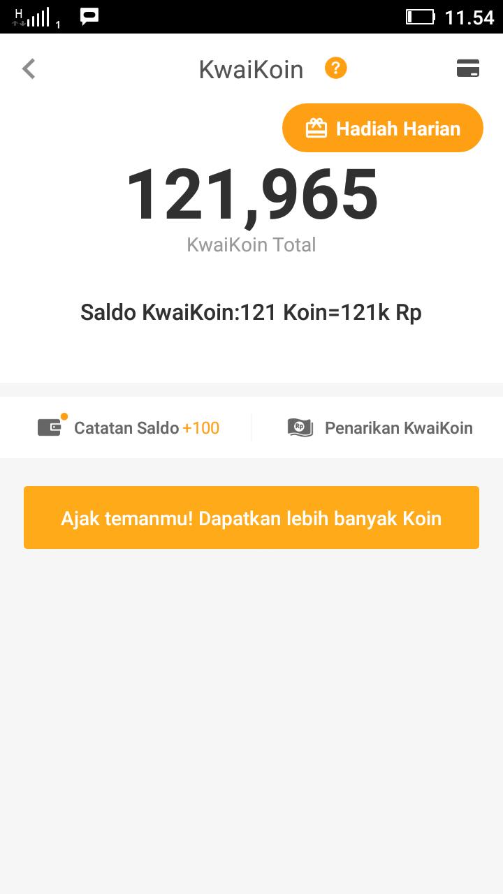 Cara Daftar Kwai Go Untuk Mendapatkan Uang Lewat HP Android – KWAI GO