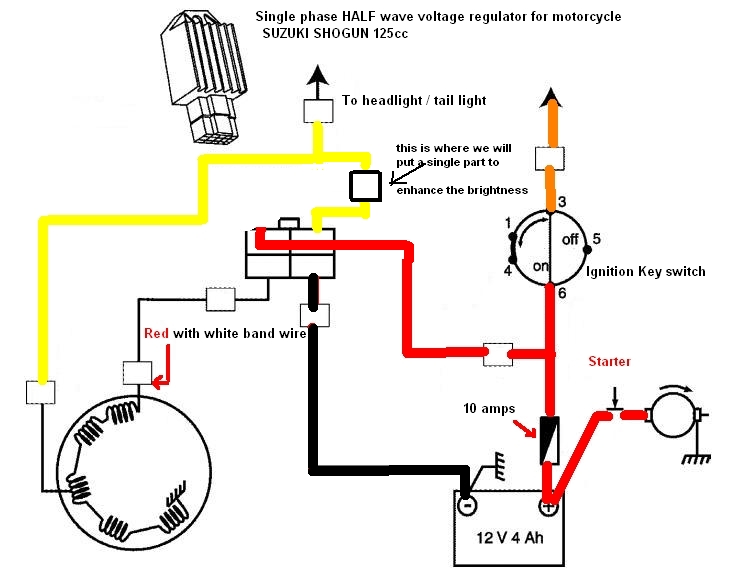 Honda Xrm 110 Cdi Wiring Diagram Yamaha Warrior 350 Ignition Switch Headlight Booster | Techy At Day, Blogger Noon, And A Hobbyist Night
