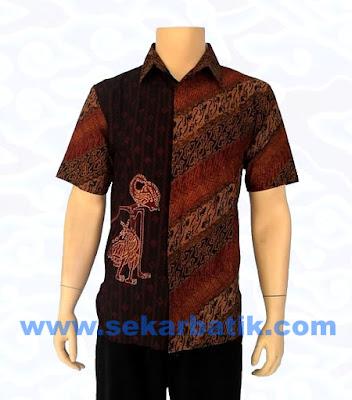 Baju Batik Pria Modern Dengan Model Kemeja Batik Terbaru