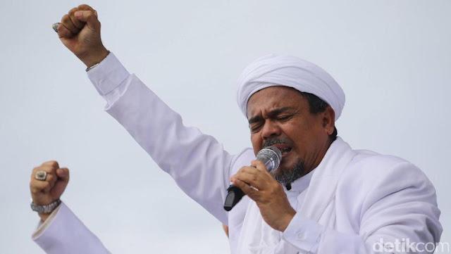 Habib Rizieq: Kemenangan Sudah Dekat, Sabar dan Jangan Gegabah!