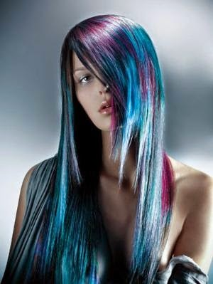 Funky Hair Highlights Â« VIP Hairstyles  See more http://www.womensandmenshairstyle.net/