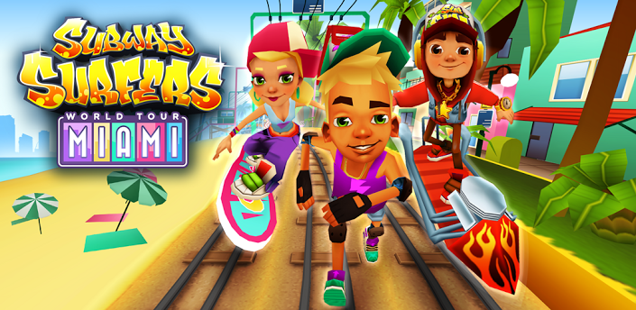 Download Game Subway Surfers (Unlimited Keys, Coins and Characters)