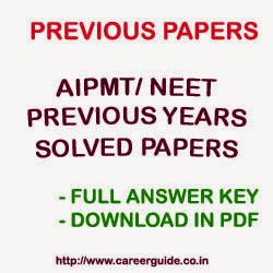 Aipmt Previous Year Solved Question Papers Pdf