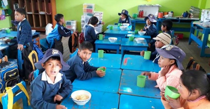 QALI WARMA: Desayunos y almuerzos ayudan a escolares de Ayacucho a mejorar atención en clases - www.qaliwarma.gob.pe