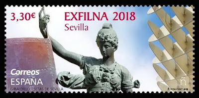 Exfilna 2018 - Sevilla  - Sello