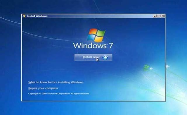6 - Tutorial Menginstal Windows 7