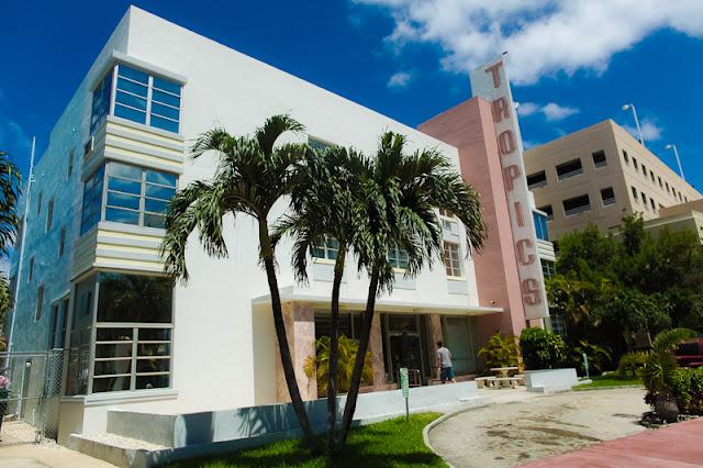 Tropics Hotel e Hostel em South Beach em Miami