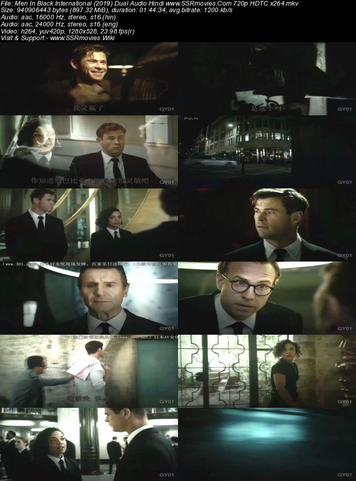 Men In Black International (2019) Dual Audio Hindi 720p HDTC 900MB Movie Download
