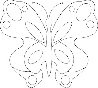 Free Applique Pattern For Butterfly