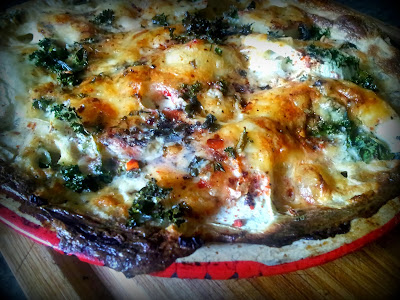 Potato & Kale Pie