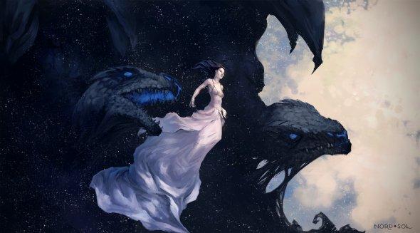 Irina Kuzmina nord-sol deviantart ilustrações fantasia
