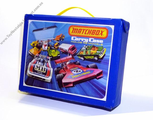 matchbox carry case 1975 (48 models)