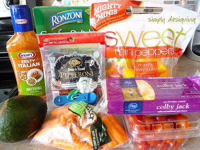 zesty avodavo pasta salad ingredients 1 Zesty Avocado Pasta Salad + Giveaway! #GetZesty #giveaway #sponsored 16
