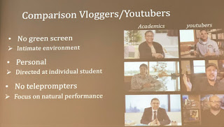 comparison between 'academic' videos and ordinary youtube ones