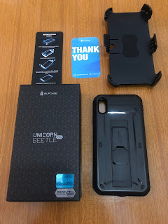 Da SUPCASE la cover Unicorn Beetle Pro Full per iPhone Xs Max