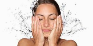 Image result for cuci wajah dengan kadar yang sepatutnya