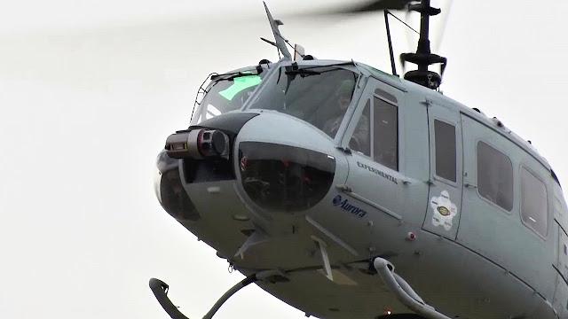 Los Marines prueban un helicóptero UH-1H autónomo capaz de suministrar a las tropas en tierra a través de una tablet