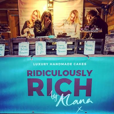 Ridiculously Rich by Alana stall Wakefield Rhubarb Festival