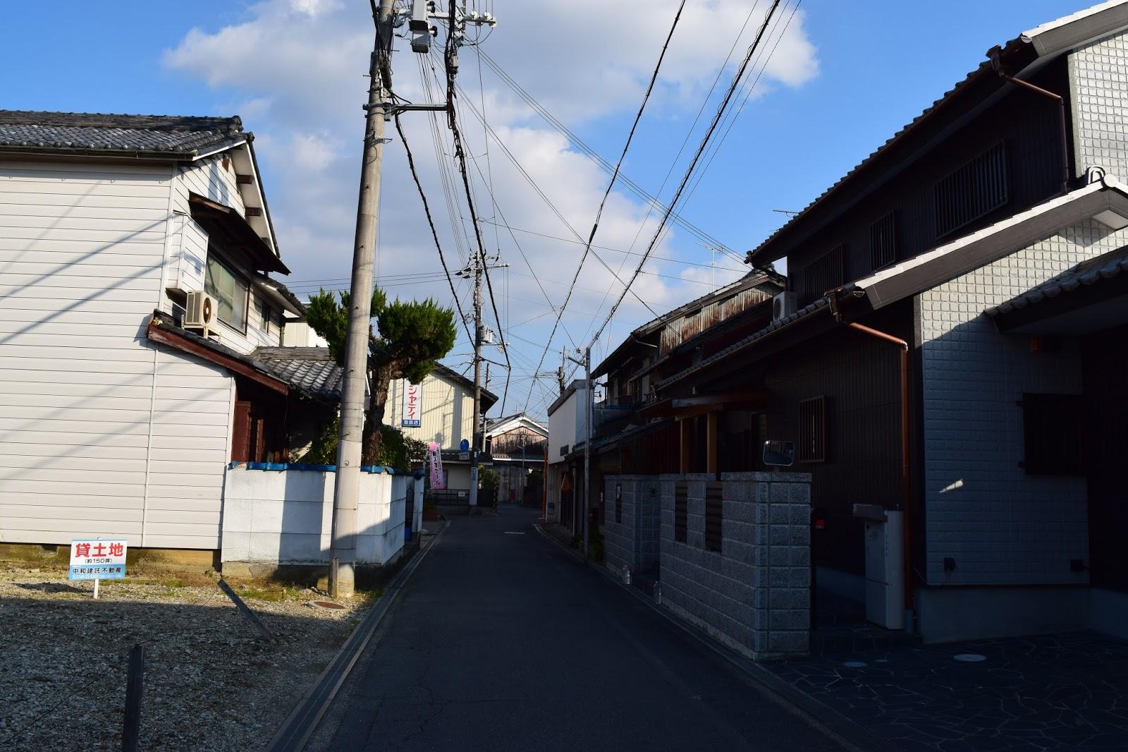 Japanese houses Nara