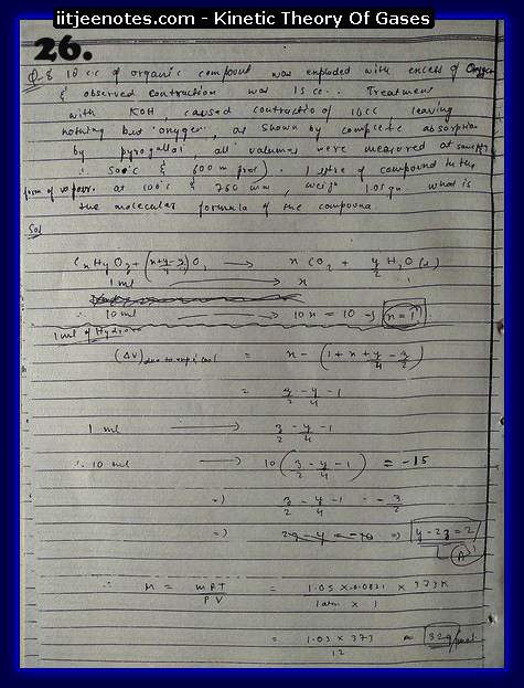 Kinetic Theory Of Gases Notes11