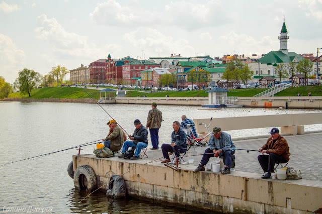 Рыбаки Нижний Кабан